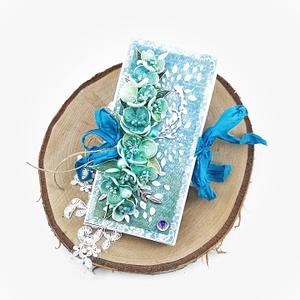 Ręcznie robiony czekoladownik w podziękowaniu dla nauczyciela. Kartka z miejscem na czekoladę to pomysł na prezent na Dzień Nauczyciela.