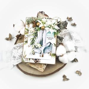 Kartki świąteczne na Boże Narodzenie handmade z możliwością personalizacji. Ręcznie robiona kartka świąteczna to nie tylko wspaniały pomysł na przesłanie życzeń, ale także ozdoba domu.